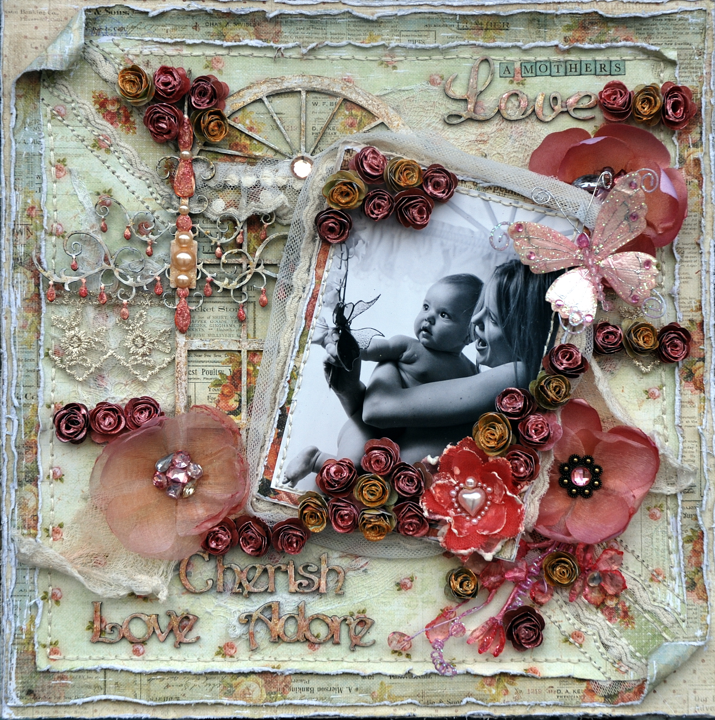 Hi Girls,here is a LO I completed using those amazing Scrap Fx Chippy's