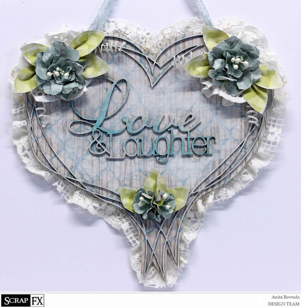 Love and laughter wall decor - Anita Bownds oct 2014 Scrapfx DT (1)
