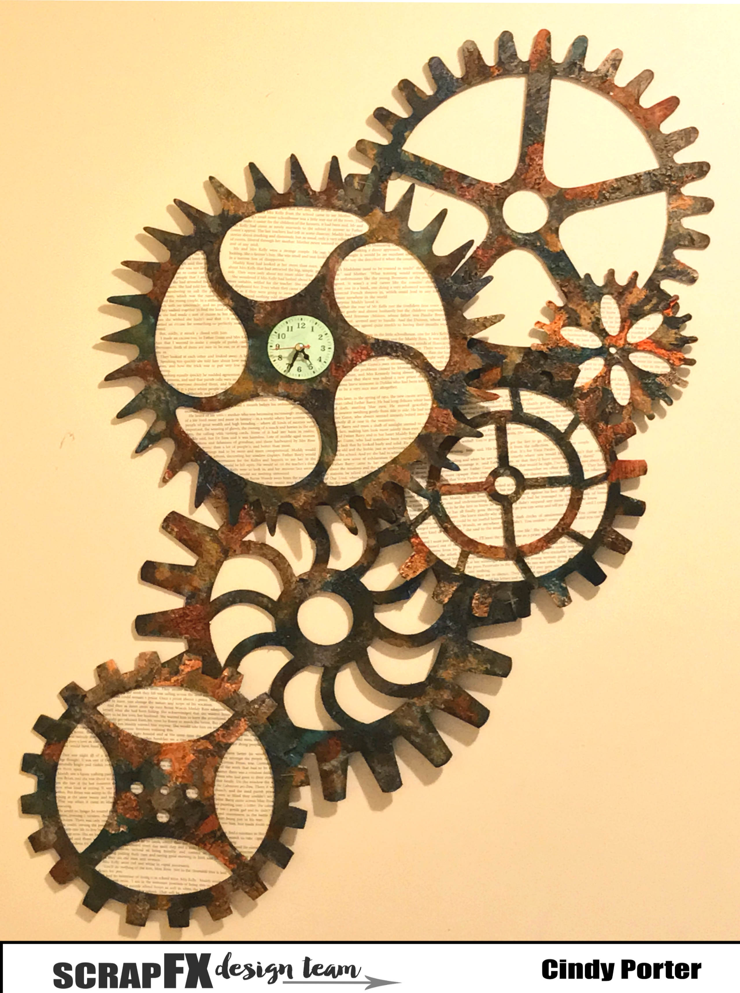 Creative People Don T Play By The Rules Steampunk Cog