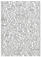 Nature Text transparency