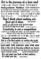 Creativity phrases