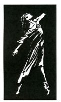 Dramatic Dancer stencil