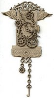 Steampunk Wall Clock LARGE