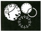 Mechanical Time stencil