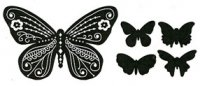 Beautiful Butterfly stamp