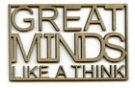 Great Minds....