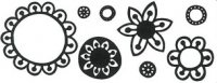 Build a Flower stamp