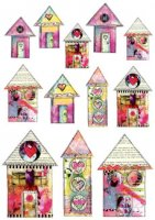 Happy Houses MINI by Michelle Logan