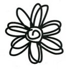 Scribble Daisy stamp