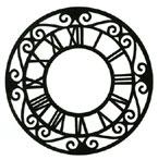 Clock Face Stamp