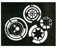 Cool Circles stencil - Click Image to Close