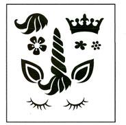 Create a Unicorn stencil