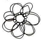 Elegant Flower silhouette