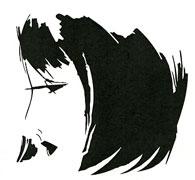 Flapper Girl stencil