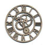 Clockface, gears/steampunk