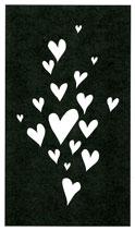 Heart Explosion stencil - Click Image to Close