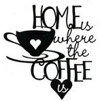 Home Coffee phrase BLACK