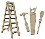 Ladder & Tools