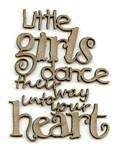 Little Girls Dance phrase