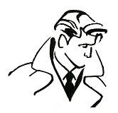 Mystery Man stencil