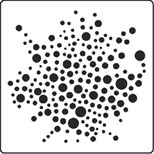Random Dots stencil