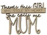 She calls me MUM