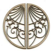 Spiral Circle Window LARGE