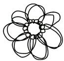 Stylish Flower stamp