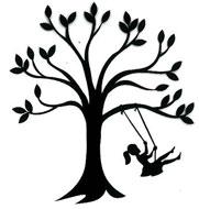 Tree Swing  girl