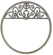 Wrought Iron Circle - Click Image to Close