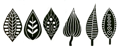 Petals & Leaves stamps - Click Image to Close