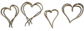 Scrawl Hearts